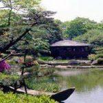 日本庭園 慶沢園にて展示開催