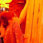 1月10日 曾根崎恵美寿社 十日戎 曾根崎えびす祭にて書道パフォーマンスを披露させていただきました!