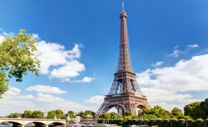 The Eiffel tower in Paris; Shutterstock ID 167523137; team: cr