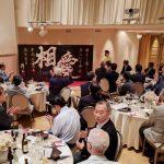 神戸東ロータリークラブさま 会員親睦会のオープニングにて書道パフォーマンスを披露させていただきました!